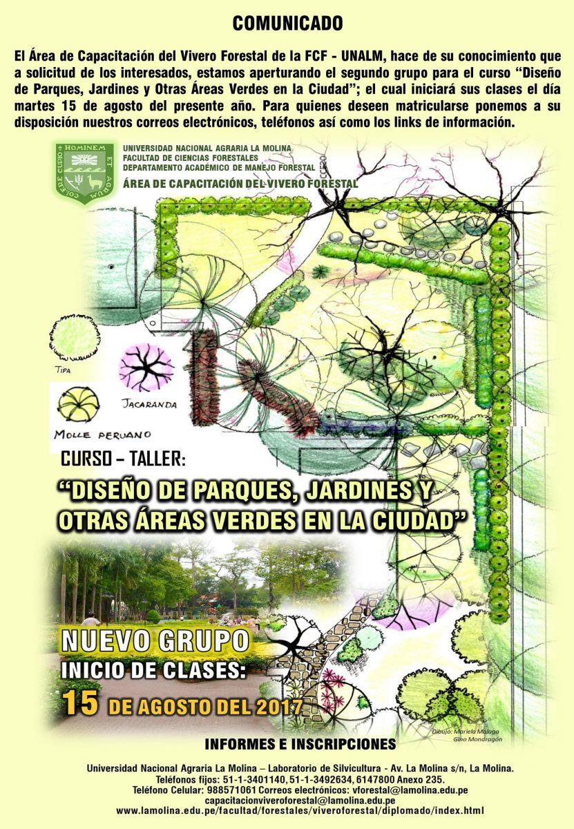 Curso Taller Dise O De Parques Jardines Y Otras Reas