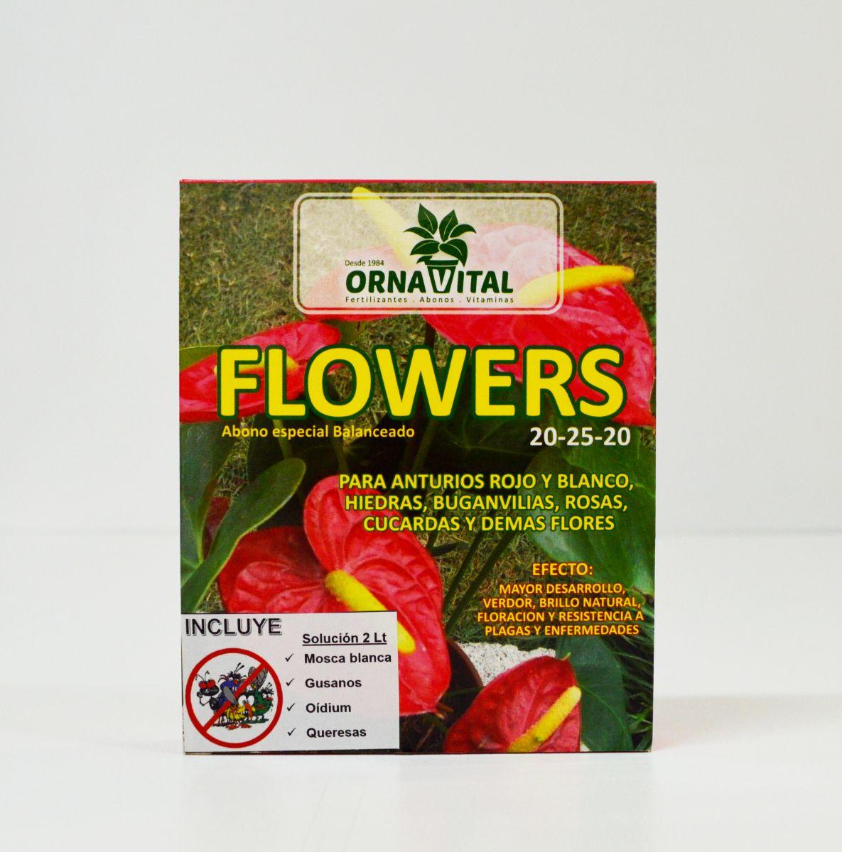 Flowers abono balanceado vivero chaclacayo for Jardin vertical sodimac