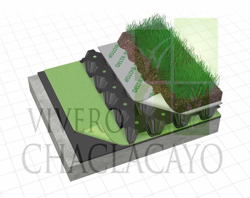 Cubiertas vegetales para tejados la cubierta jardn que - Cubiertas vegetales para tejados ...
