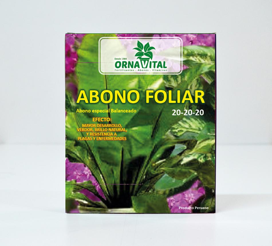 Abono foliar vivero chaclacayo for Abono para las plantas de jardin