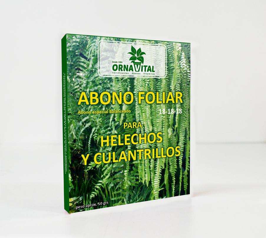 Abono para helechos y culantrillos vivero chaclacayo for Vivero organico