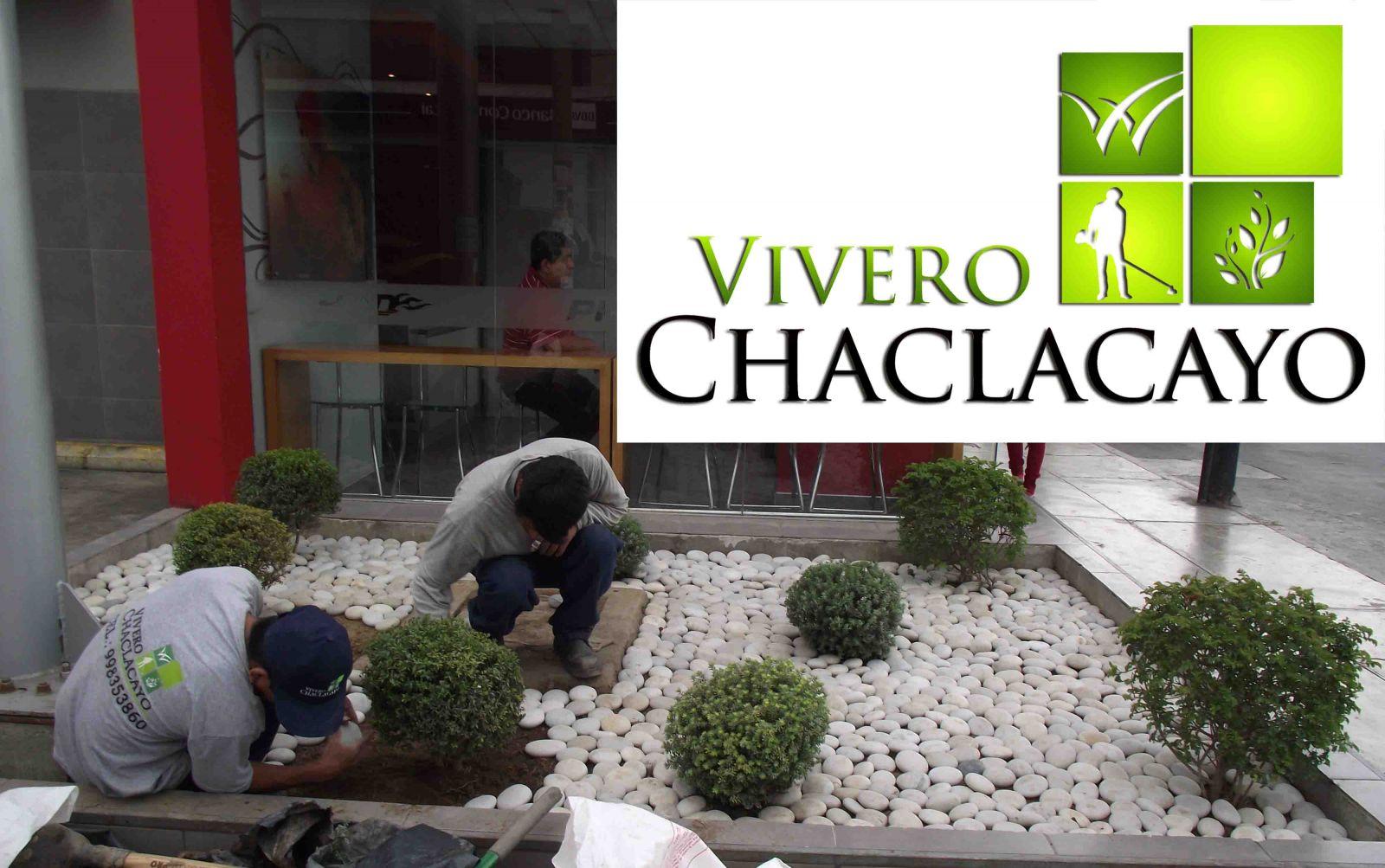 Instalaci n de piedra canto rodado lima metropolitana vivero chaclacayo - Piedra blanca para jardin precio ...