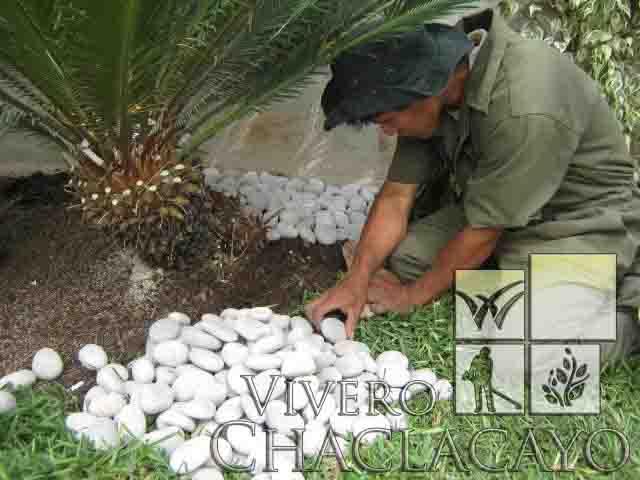 Instalaci N De Piedra Canto Rodado Los Condores